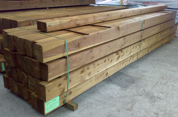 Maderas aguirre catalogo de vigas macizas for Vigas de madera para jardin