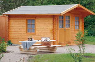 Maderas aguirre jardineria casetas de madera caseta for Casetas de obra baratas